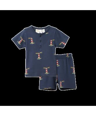 Short Sleeve Pyjama Set